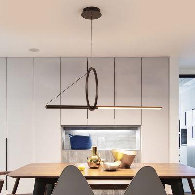abstract pendant lights