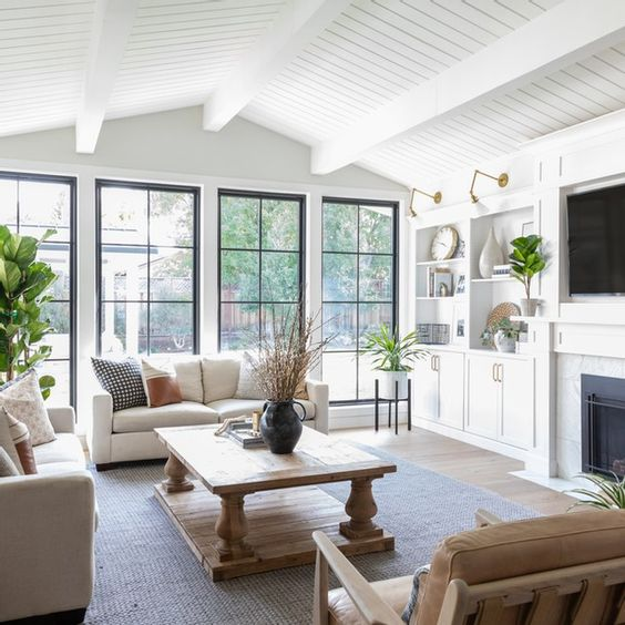 bright room with large window