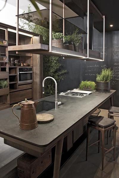 fresh industrial kitchen