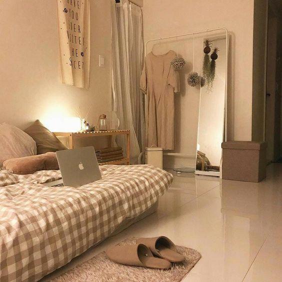 korean bedroom colors