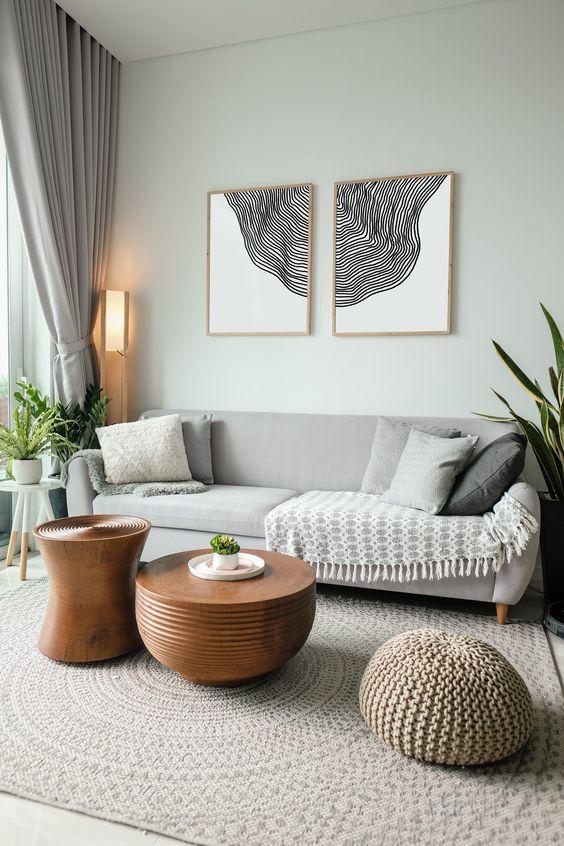 minimalist living room decors