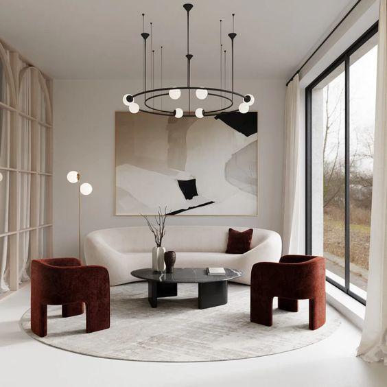 minimalist room plant decors