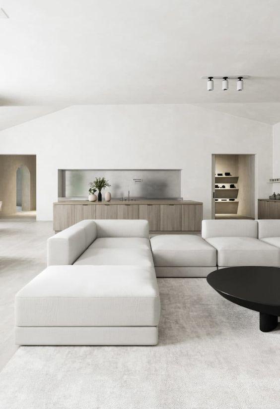 beautiful minimalist room design