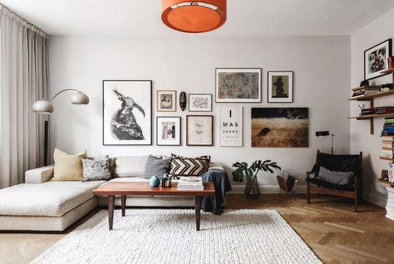 artwall for scandinavian living room