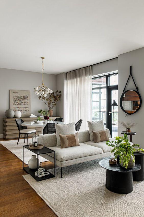 beautiful small open plan room