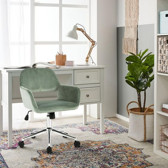 bright workspace with natural lighting