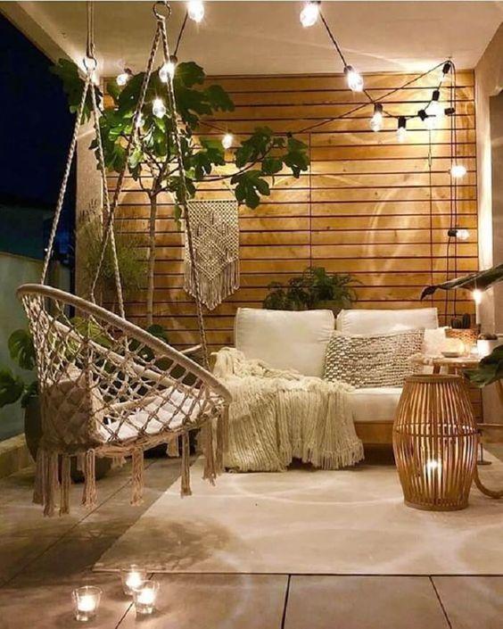 hanging chair outdoor