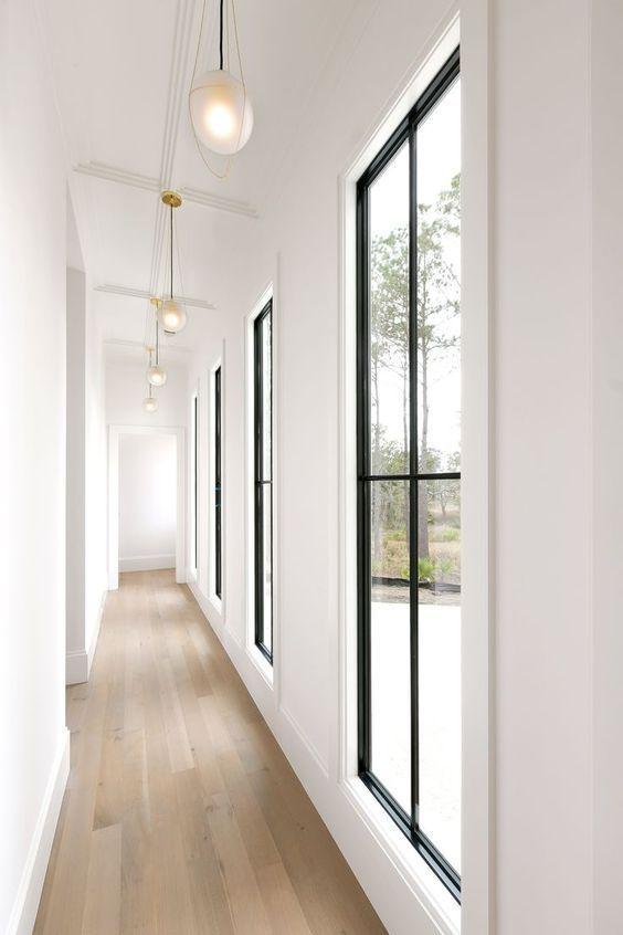 bright room with wooden floor