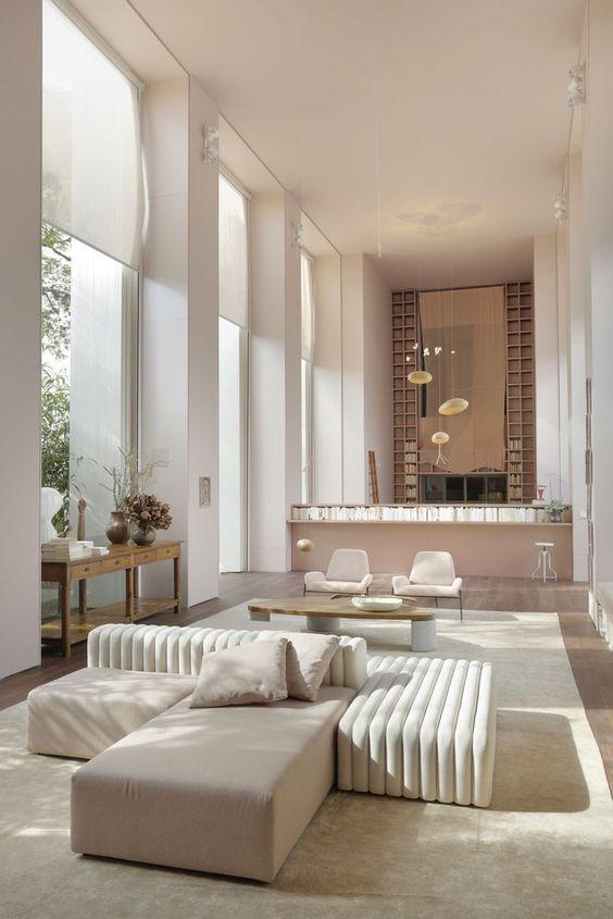 warm minimalist interior design