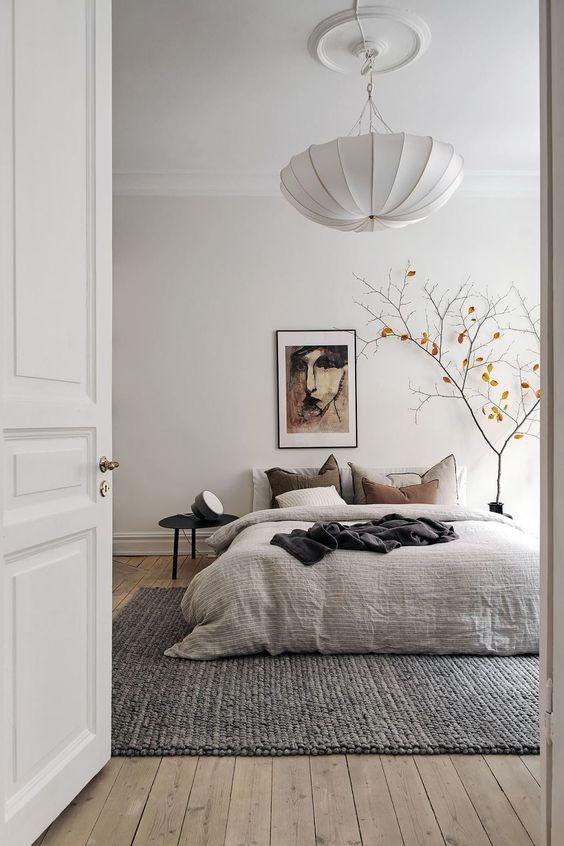 simple scandinavian bedroom