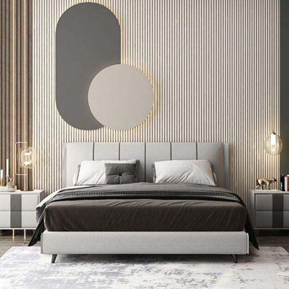 modern scandinavian bedroom