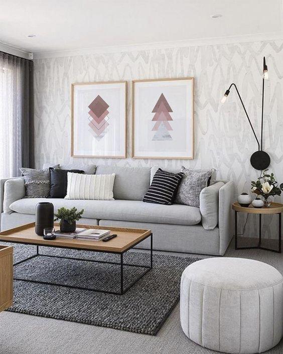 low-profile living room sofa