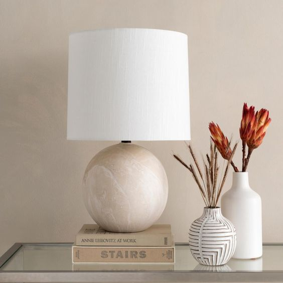 living room table lamps decor