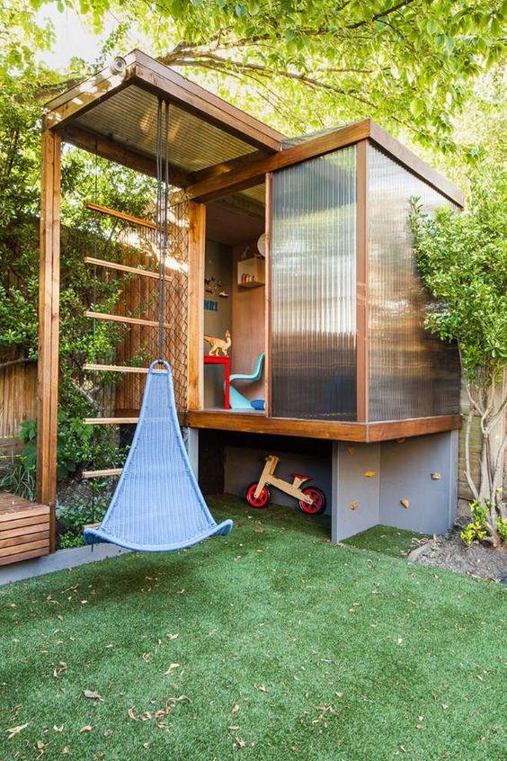 playground on the backyard