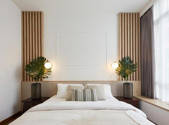 fresh scandinavian bedroom