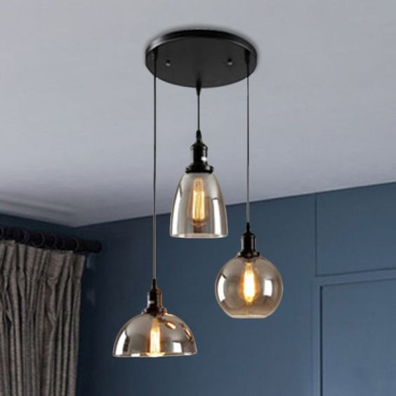 multple pendant lights