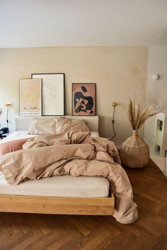 comfortable beige bedroom colors