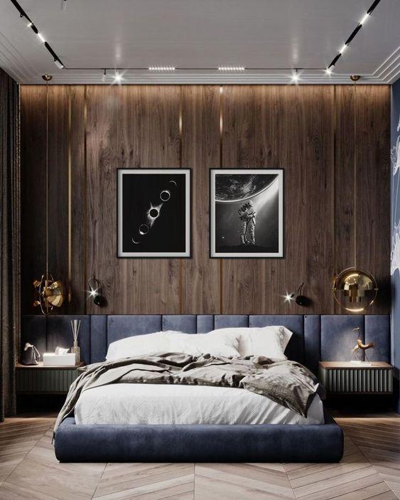 brown neutral colors bedroom