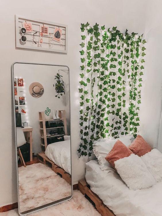 artificial vines bedroom decors
