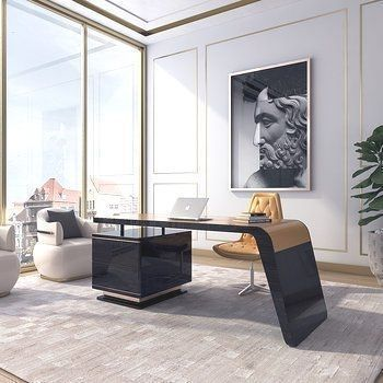 classic luxury home office