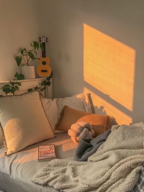 cozy korean bedroom