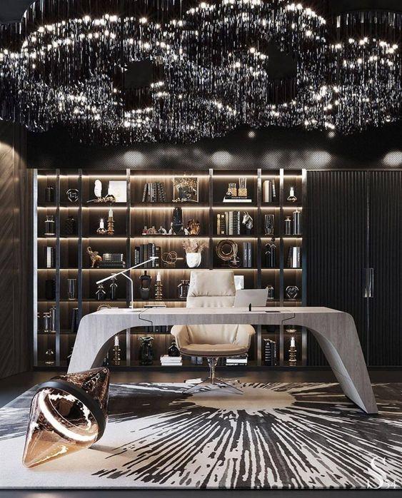 modern luxury home office