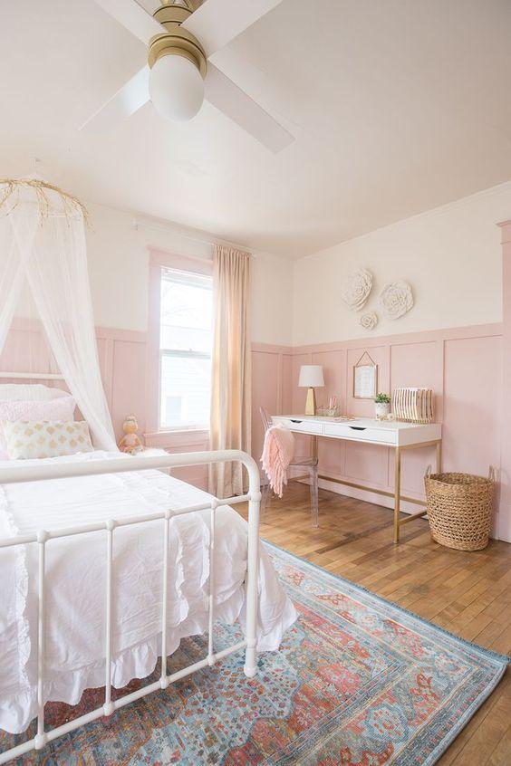 pink bedroom decors
