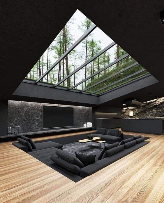 skylight window modern design
