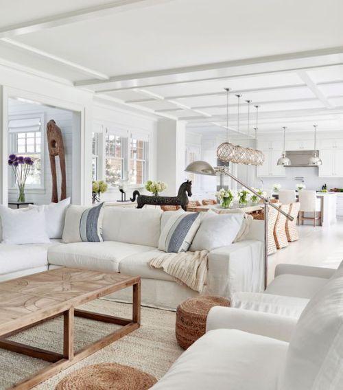 coastal living room decors