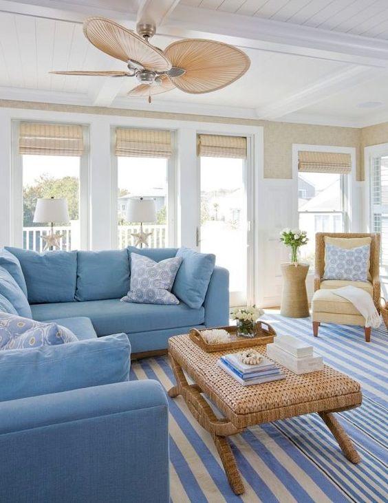 cozy coastal living room design