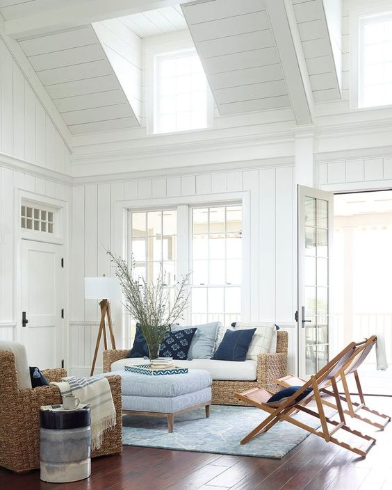 minimalist coastal design