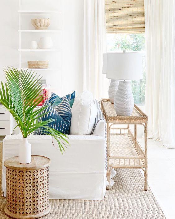 fresh coastal living room decors