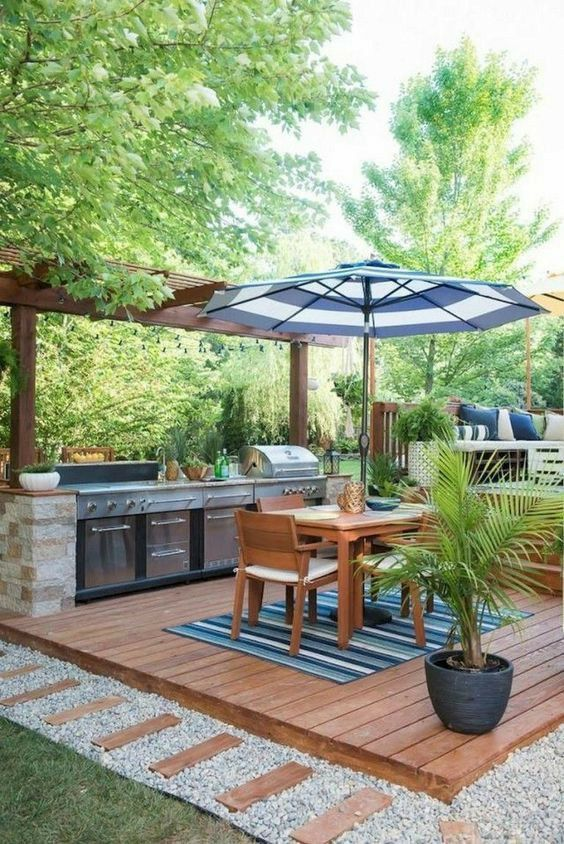 cozy barbeque hub