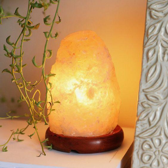 himalayan salt living room lamps