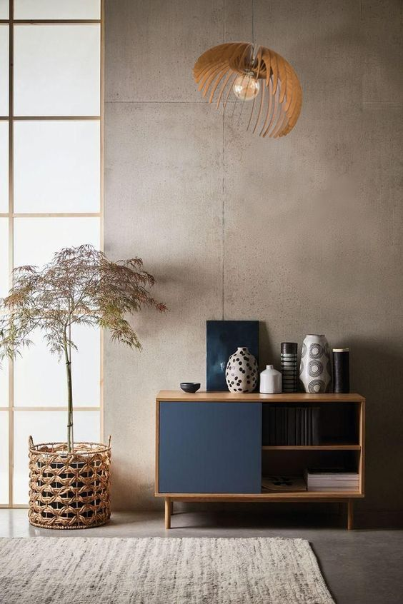 simple japandi interior decors