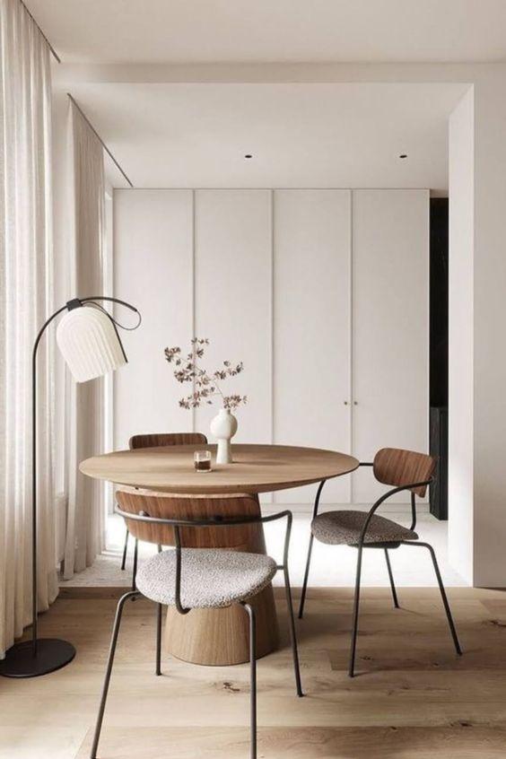 dining room japandi design