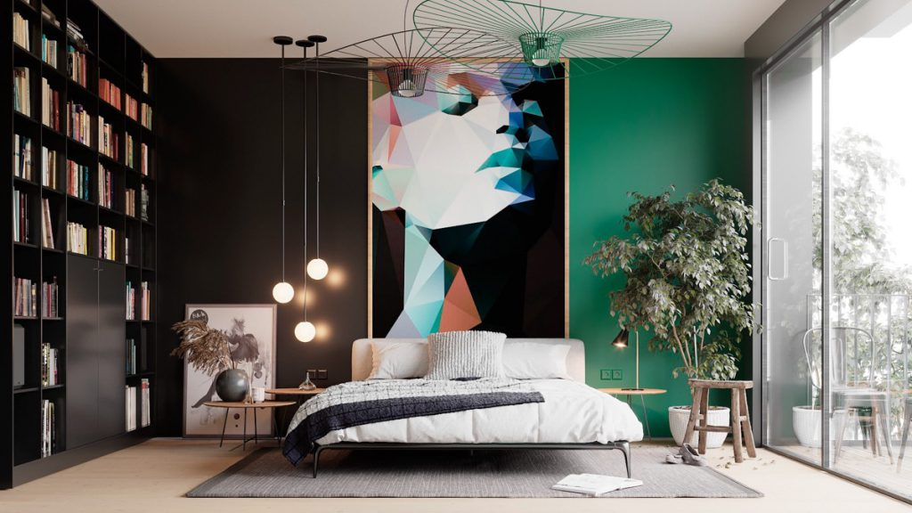 modern luxury bedroom design
