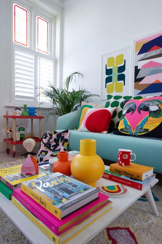 interior retro design furniture