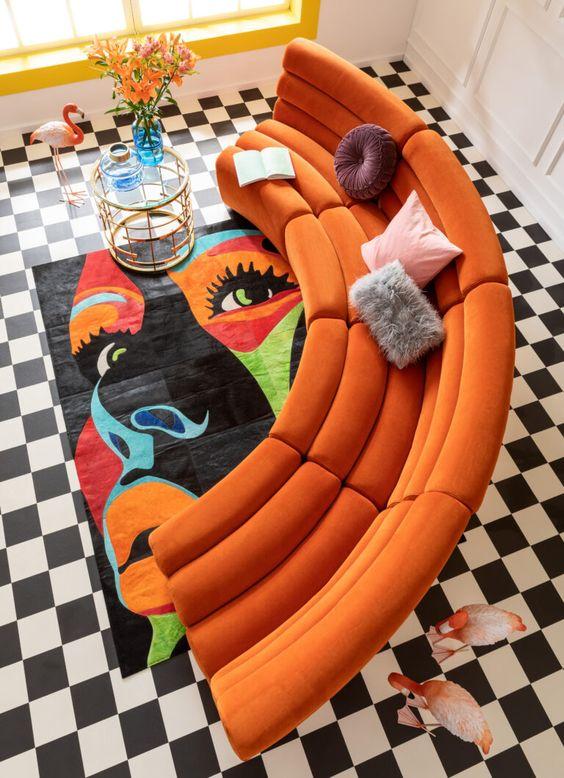 retro living room design