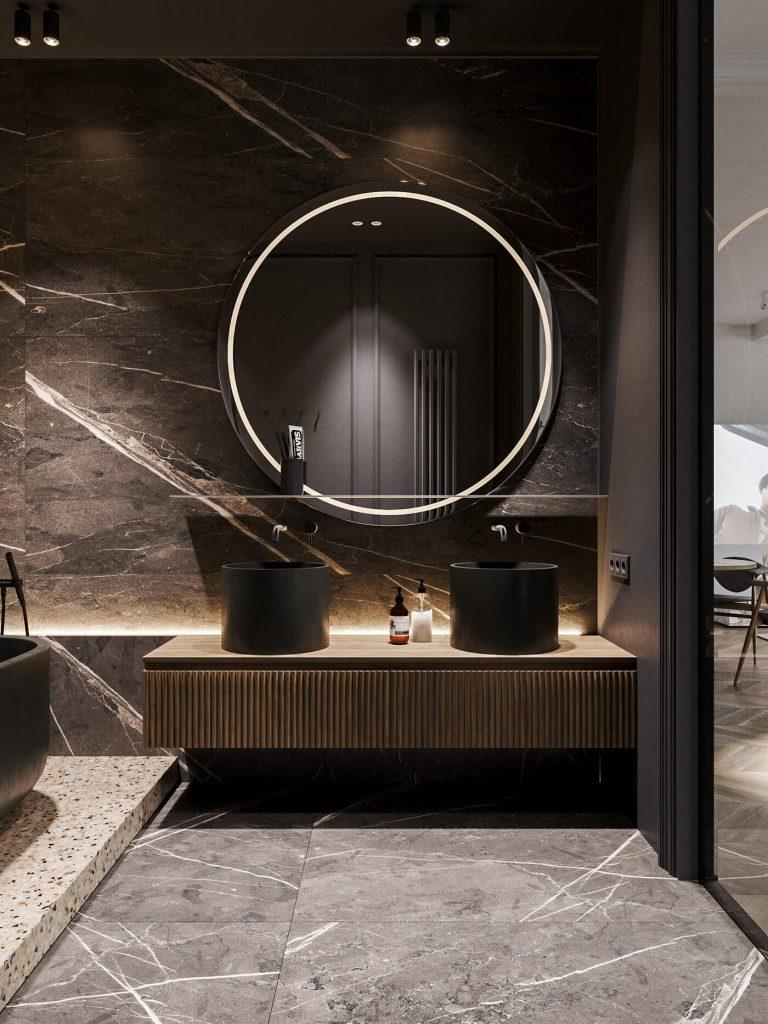 apartment bathroom decors