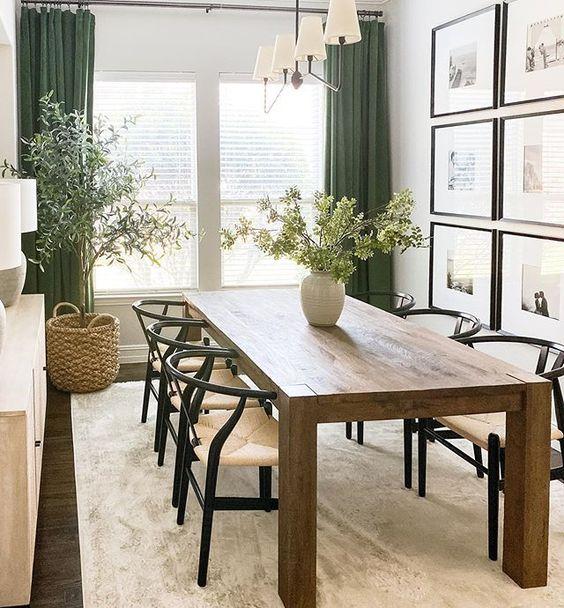 fresh dining room decoration