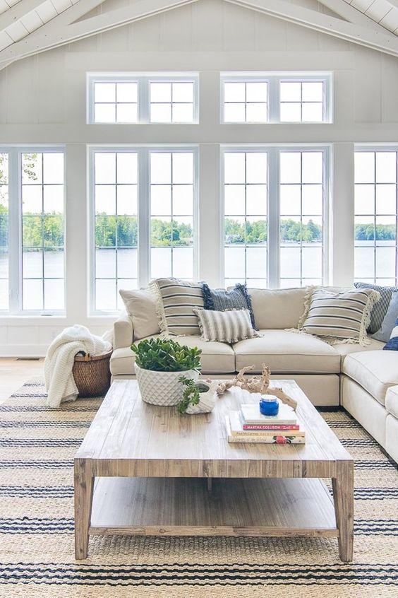 fresh coastal room decoration