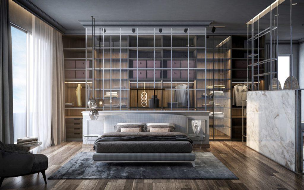 glamour bedroom ideas