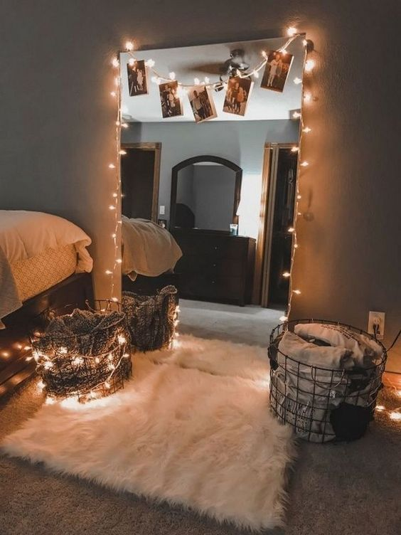 beautiful mirror teen bedroom decors