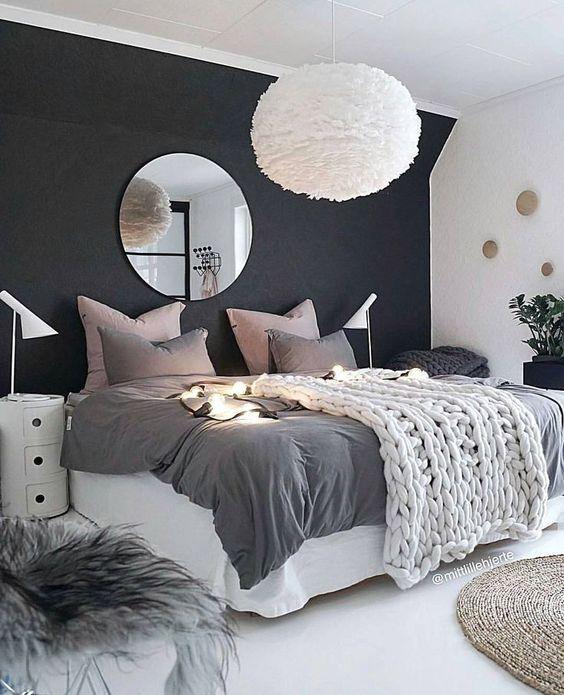 contrast teen bedroom decors