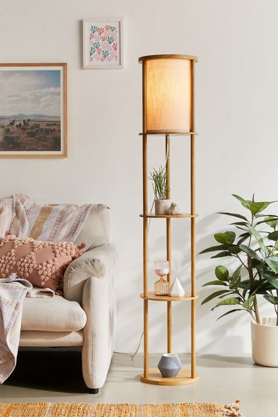 beautiful living room lamps