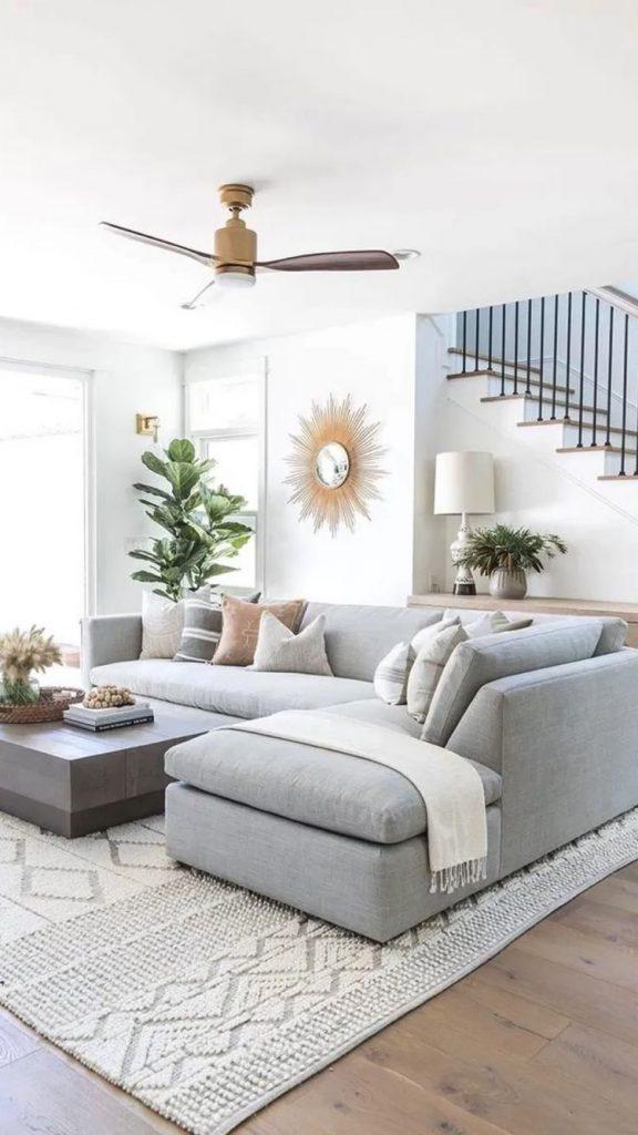 fresh small living room