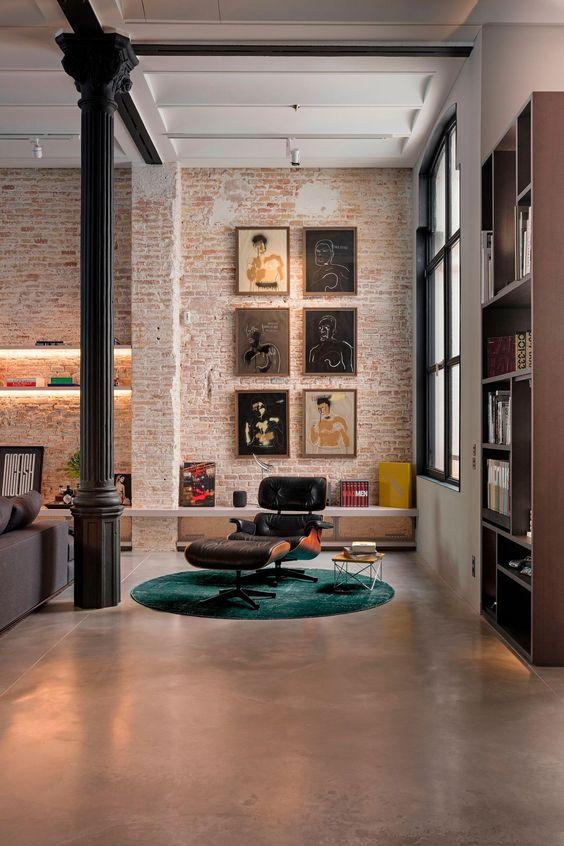 industrial interior design decors