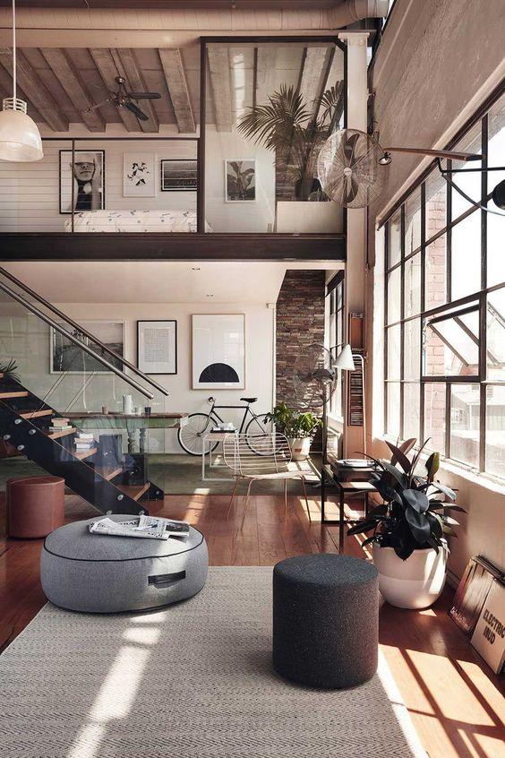 beautiful industrial interior design