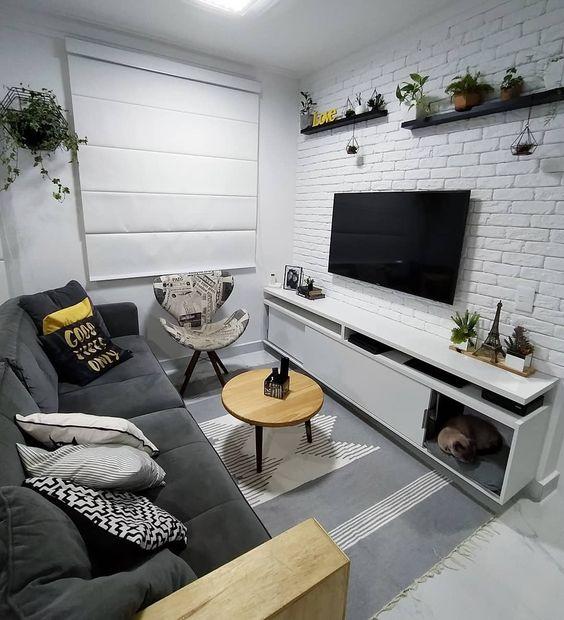 fun small living room